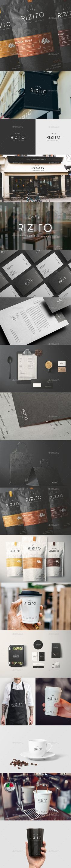 Buy Cafe Full Corporate Identity by Mastergfx on GraphicRiver. Rizito Cafe Full Corporate Identity Impress your clients with this creative and modern identity package suited for ev.
