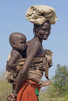 Etiòpia: Tribu Mursi.