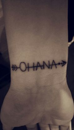 ohana tattoo - Google Search