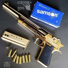 Manufacturer: Magnum Research Mod. Desert Eagle Mark XIX Type - Tipo: Pistol Caliber - Calibre: 44 Magnum Capacity - Capacidade: 8 Rds Barrel length - Comp.Cano: 10 Weight - Peso: 4.46...