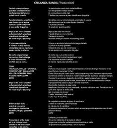 """Lo que dice la letra de """"Chilanga Banda"""""""