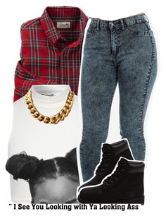 """1.31.15"" by trinityannetrinity ❤ liked on Polyvore featuring Jane Norman, Timberland, women's clothing, women, female, woman, misses and juniors"