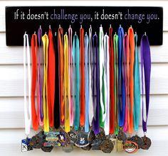 RUNNING MEDAL SPORTS DISPLAY,HOLDER,HANGER,Marathon,4294, Free Run Vehicle Decal #EataMangoCreations