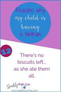 78 reasons why my child is having a tantrum number 12