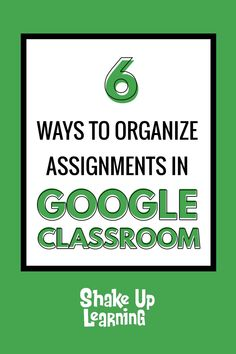 Wondering how to organize Google Classroom? This post will give you the most common organizational strategies for the Classwork page and topics. Teaching Tools, Teacher Resources, People Reading, Educational Technology, Instructional Technology, Instructional Strategies, Educational Leadership, Flipped Classroom, Blended Learning