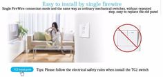 Broadlink Smart Home Original Touching 1 Load Panel Switch Wireless Remote Light Controller(UK Plug) - Tmart Safety Rules, Fire Safety, Smartwatch, Apple Technology, Fire Cover, Electrical Safety, Escape Plan, Smoke Alarms, Take A Seat
