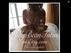 flower girl dress with corset custom made sizes by Jillybeantutus
