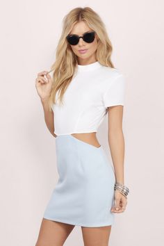 On Your Side Cutout Bodycon Dress