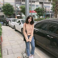 Korean Fashion Men, Ulzzang Fashion, Korean Street Fashion, Ulzzang Short Hair, Ulzzang Girl, Girl Outfits, Cute Outfits, Fashion Outfits, Cute Fashion