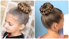 Rope-Twisted Pinwheel Bun | Prom Hairstyles - YouTube