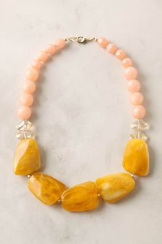 {Sweet Drops necklace, by Anthropologie [$38] }