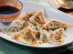 Get Vegetable Potstickers Recipe from Food Network