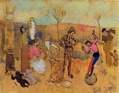famille de bataleurs_1905_Picasso