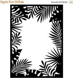 Darice® Embossing Folder - Jungle Border - 4.5 x 5.75, scrapbooking, greeting cards, card making, invitations 1219-114 #CardMaking #DariceEmbossing #scrapbooking #HandmadeCards #emboss #stamping #EmbossingFolder #embossing #ScrapbookSupplies #dies