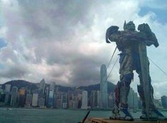 《變形金剛:殲滅世紀》今日4點到5點喺香港尖沙咀文化中心舉行全球首映禮!尖沙咀海旁今日仲會出現柯柏文!
