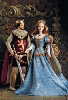 Ken® and Barbie® Doll as Camelot's King & Queen, Arthur and Guinevere | The Barbie Collection