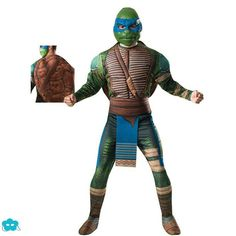 Disfraz de Leonardo tortugas Ninja Movie para hombre