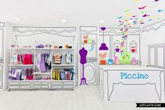 Piccino Shop in Valencia // Masquespacio