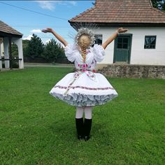 Folk Costume, Costumes, Lany, Hungary, Harajuku, Ballet Skirt, Gowns, Traditional, Skirts