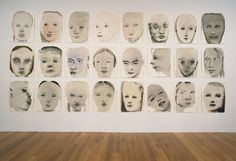 "Chlorosis (Love sick)  Marlene Dumas (South African, born 1953)    1994. Ink, gouache, and synthetic polymer paint on paper, each sheet 26 x 19 1/2"" (66.2 x 49.5 cm)."