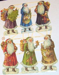 German Victorian Father Christmas Santa Claus by TheWisdomTree