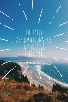 10 Daily Affirmation