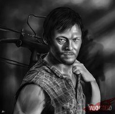 The Walking Dead - Fan Art by Rafael C. Costa, via Behance