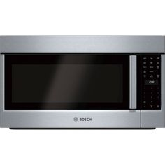 Bosch 800 Series 1.8-cu ft Over-The-Range Convection Oven Microwave with Sensor Cooking Controls (Stainless Steel) (Common: 30-in; Actual: 29.87-in)