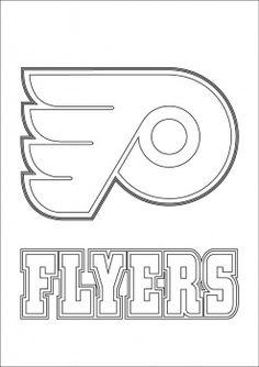 NHL Hockey Logos Coloring Pages | Hockey logos ...