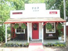 Coca Cola Pop Shop in Tulsa, OK Persimmon Hollow Antiques Village.