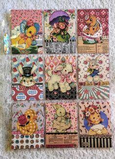 Set of 9 Cards~Mermaid Ocean~Pocket Pen Pal Letter Kit~with Protector~#129N