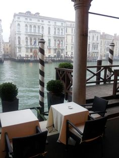 Dock at the Luxury Hotel Centurion Palace Venezia