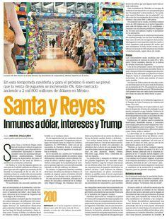 Santa y Reyes, inmunes a dólar, intereses y Trump