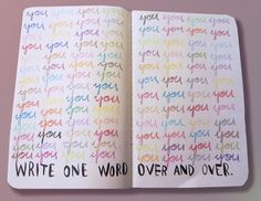 Great idea for my art journal!