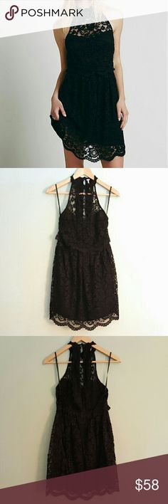 Spotted while shopping on Poshmark: Free People Lost in a Dream Black Lace Dress 0! #poshmark #fashion #shopping #style #Free People #Dresses & Skirts