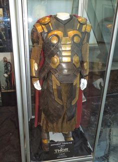 """From """"Thor: The Dark World"""" (2013) worn by Anthony Hopkins as Odin design by Wendy Partridge"""