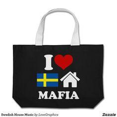 Swedish House Music Jumbo Tote Bag