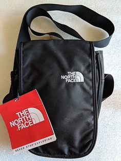 adcead73f1 Unisex Accessories · THE NORTH FACE Cross Body Messenger   Shoulder Bag  Black NWT  fashion  clothing