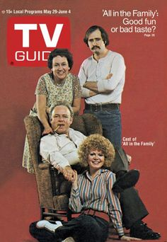 May 29, 1971    All in the Family was quite controversial when it first aired