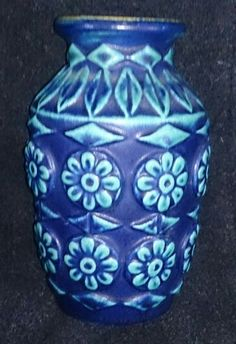 German Vase Candlesticks, German, Pottery, Vase, Ceramics, Retro, Collection, Home Decor, Candle Holders