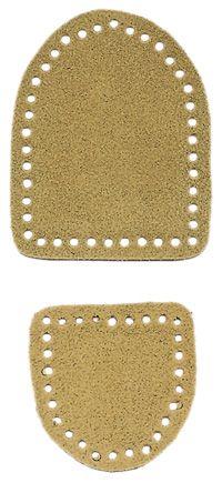 Leather Bottoms for Crochet Slippers  ❥ 4U // hf http://www.pinterest.com/hilariafina/