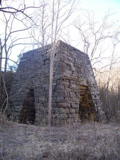 Cripple Creek - Raven Cliff Furnace  Raven Cliff Furnace, located on National Forest Recreation Area, Gleaves Rd., Cripple Creek, Wythe County, VA. Photo by Shawn Dunford
