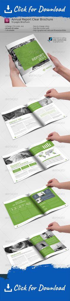 Annual Report Design Template V2 - annual report templates free download