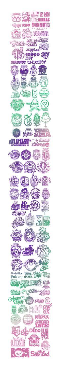 compilation logos on Behance