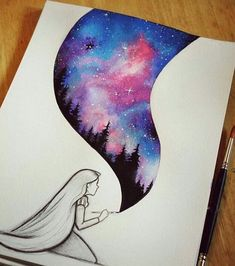 Cool Drawing Galaxy Painting Cool Drawings Disney Art Easy Drawings And Paintings Realistic Drawings And Colorful Paintings By Xane Asiamah Artsy Drawing Pictures Painting Drawings Or Painting At Paintingvalley Com…Read more of Drawings For Paint Beautiful Drawings, Cute Drawings, Awesome Drawings, Beautiful Images, Art Drawings Easy, Simple Disney Drawings, Pretty Easy Drawings, Easy Pencil Drawings, Indie Drawings