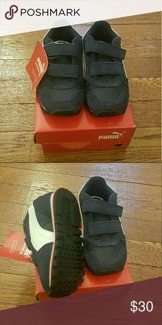 🎉🎉HP🎉🎉Puma toddler sneakers Brand new kids Puma sneakers with straps Puma Shoes Sneakers