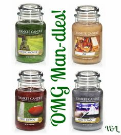 Yankee Candles Man Candles
