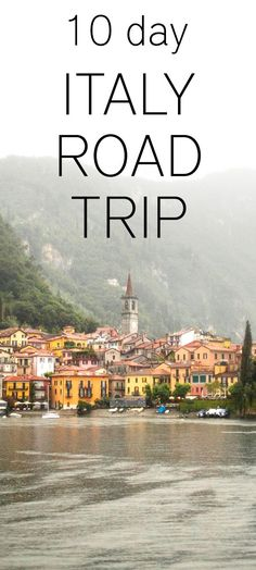 10 day Italy road trip