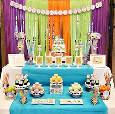 Monster Themed First Birthday Inc Party