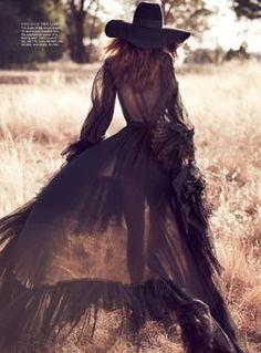 TatiTati Boho Style * The Sweetest Thing // Cassi van den Dungen by Will Davidson for Vogue Australia April 13